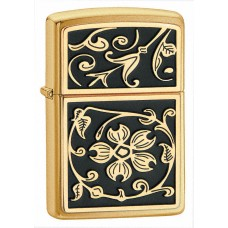 Зажигалка Zippo 204B Gold Floral Flourish 20903