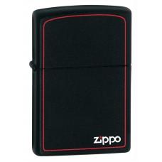 Зажигалка Zippo Black Matte 218ZB