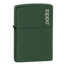 Зажигалка Zippo Green Matte With Logo 221 ZL