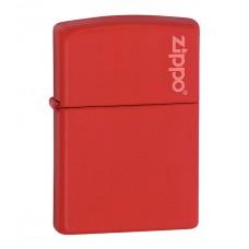 Зажигалка Zippo Red Matte With Logo 233 ZL