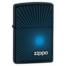 Зажигалка Zippo 218 Stardurst Blue Black Matte 24150