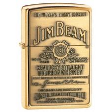 Зажигалка Zippo Jim Beam 254BJB 929